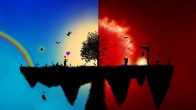 O céu e  o inferno na concepção das religiões